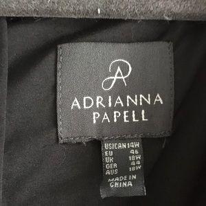 Adrianna Papell Dresses - Slimming sheath dress w/cap sleeves